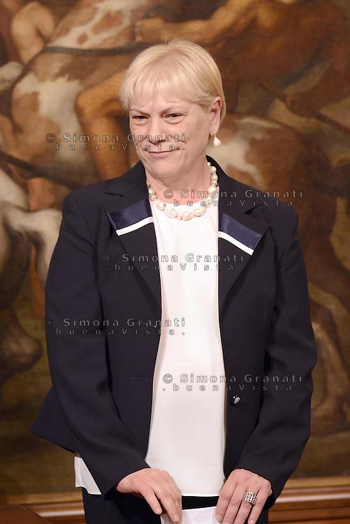 Roma, 3 Mag 2013.Giuramento a Palazzo Chigi dei Sottosegretari e Viceministri del Governo Letta..Sesa Amici