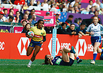 Thalia Da Silva Costa, Day 1 at Hong Kong Stadium, HSBC World Rugby Sevens Series, Hong Kong Sevens 2019 - Photo Martin Seras Lima