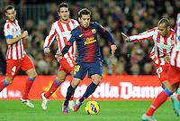Jordi Alba ( FC Barcelone ) .Football Calcio 2012/2013.La Liga Spagna.Foto Panoramic / Insidefoto .ITALY ONLY