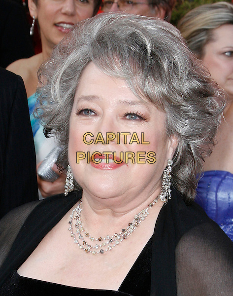 KATHY BATES.The 82nd Annual Academy Awards held aat The Kodak Theatre in Hollywood, California, USA..March 7th, 2010.oscars headshot portrait diamond earrings necklace black .CAP/EAST.©Eastman/Capital Pictures.