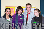 Debating at the Comhairle na nO?g in the Killarney KDYS on Friday night was l-r: Marisa Penagos Caherciveen, Leanne Harrington Killarney, Maurice Mickle White Killarney and Orla Sheehan Killorgin   Copyright Kerry's Eye 2008