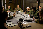Mcc0027461 . Daily Telegraph..A lighthearted moment during a briefing in the 3 Para Battlegroup's Ops room, Shazad, in the Chah e Anjir area of northern Nad e Ali district ...Helmand 25 November 2010