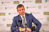 Rotterdam, The Netherlands, 17 Februari 2019, ABNAMRO World Tennis Tournament, Ahoy, Final, press conferencece with tournament director Richard Krajicek <br /> Photo: www.tennisimages.com/Henk Koster