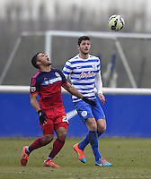 Jamie Seniles-White of QPR and Quincy Amarikwa of Chicago Fire