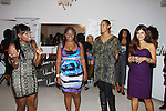 """One Life To Live's Shennell Edmonds, Kearran Giovanni and Shenaz Treasury join with Delaina Dixon. Editor-In Chief """"TV DivaGal of DivaGalsDaily.com at Let's Celebrate - The Diva Gals Style Lounge on October 5, 2011 at Select Strands, New York City, New York. DivaGalsDaily.com is the premier website inspiring DivaGals around the globe to celebrate evry living moment in a savvy, sophisticated and social way.  (Photo by Sue Coflin/Max Photos)"""