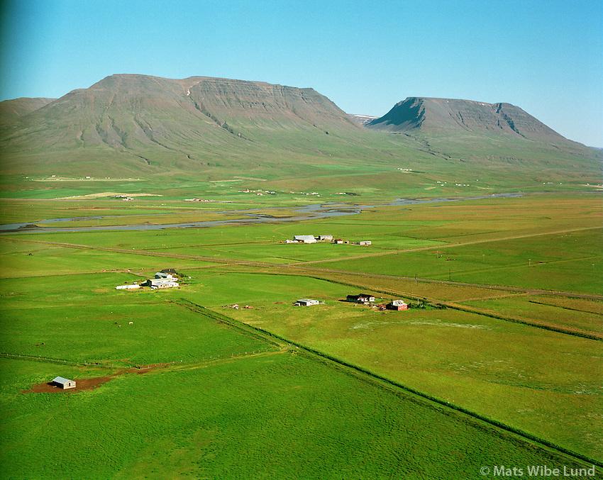 Sólvellir, Vellir og Vallanes - áður  Skinnþúfa, Seyluhreppur /.Solvellir, Vellir and Vallanes former Skinnthufa, Seyluhreppur