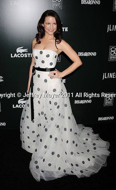 BEVERLY HILLS, CA - FEBRUARY 22: Kristin Davis arrives at the 13th Annual Costume Designers Guild Awards with presenting sponsor Lacoste held at The Beverly Hilton Hotel on February 22, 2011 in Beverly Hills, California.