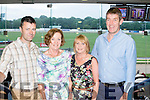 On Track<br /> ------------<br /> enjoying the thrills at Kingdom Greyhound Stadium last Saturday night were L-R Jonathan Kelliher, Catherine Walsh with Geraldine&amp;Maurice O'Connor
