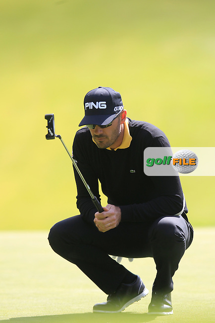 Gregory HAVRET (FRA) during round 1 of the 2015 BMW PGA Championship over the West Course at Wentworth, Virgina Water, London. 21/05/2015<br /> Picture Fran Caffrey, www.golffile.ie: