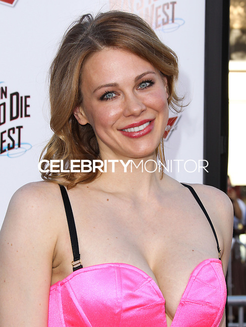 "WESTWOOD, LOS ANGELES, CA, USA - MAY 15: Maitland Ward at the Los Angeles Premiere Of Universal Pictures And MRC's ""A Million Ways To Die In The West"" held at the Regency Village Theatre on May 15, 2014 in Westwood, Los Angeles, California, United States. (Photo by Xavier Collin/Celebrity Monitor)"