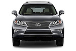 Car photography straight front view of a 2015 Lexus RX 350 5 Door Suv 2WD Front View