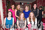Ladies Night Out Friends from Ballyheigue, enjoying an evening at Cassidys on Saturday. Pictured  front l-r Aine Higgins, Joanne Walsh, Marie Manahan, Back l-r Karina Kenny, Sonia Lynch, Mary Brett, Yvonne Hickey
