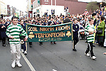Scoil Naomh Feichin at the St. Patrick's Day Parade..Picture Paul Mohan Newsfile