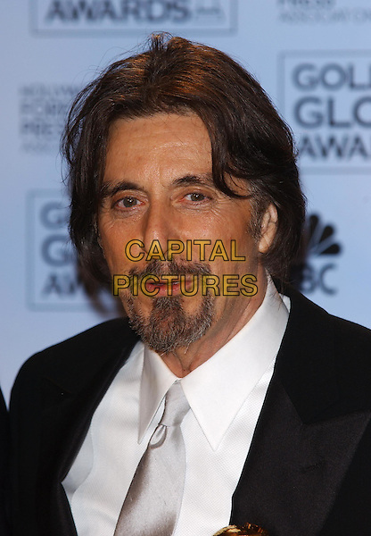 AL PACINO.61st Annual Golden Globe Awards.25 January 2004.portrait headshot, beard.www.capitalpictures.com.sales@capitalpictures.com.©Capital Pictures.