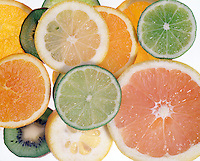 FRUIT: CITRUS CROSS-SECTIONS<br />