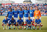 01.08.2019 Progres Niederkorn v Rangers: Rangers team