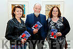 Mary Lavery Carrig (Tarbert), Louis Mulcahy and Margaret Sheehan (Listowel) at the launch of the Louis Mulcahy poetry book in Siamsa Tire on Sunday.