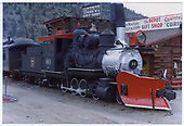 3/4 engineer's-side view of C&amp;S #60 on display at Idaho Springs.<br /> C&amp;S  Idaho Springs, CO