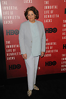 www.acepixs.com<br /> April 18, 2017  New York City<br /> <br /> Anna Deavere Smith attending 'The Immortal Life of Henrietta Lacks' premiere at SVA Theater on April 18, 2017 in New York City.<br /> <br /> Credit: Kristin Callahan/ACE Pictures<br /> <br /> <br /> Tel: 646 769 0430<br /> Email: info@acepixs.com