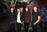 The Sherlocks - Band Shoot - Sheffield 2014