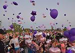 A balloon release and candlelight vigil was held at Heartland Park in Wentzville, MO on Wednesday September 19, 2018 in memory of two year-old Felicity Karam, who died after being hit by an ice cream truck on Sunday.