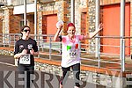 Muara O'Conner and Carrie-Anne Boylan at the Valentines 10 mile road race in Tralee on Saturday.