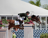 ASB Conquistador ridden by Karl Cook,  USEF trials#2 Wellington Florida. 3-22-2012