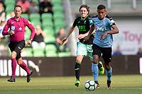 GRONINGEN - Voetbal, FC Groningen - Granada, Noordlease stadion, voorbereiding seizoen 2017-2018, 22-07-2017 FC Groningen speler Juninho Bacuna