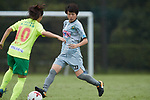 Asato Miyagawa (Beleza), <br /> SEPTEMBER 17, 2017 - Football / Soccer : <br /> 2017 Plenus Nadeshiko League Division 1 match <br /> between JEF United Ichihara Chiba Ladies 0-1 NTV Beleza <br /> at Frontier Soccer Field in Chiba, Japan. <br /> (Photo by AFLO SPORT)