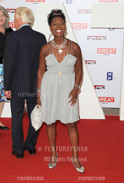 Baroness Floella Benjamin at the The UK's Creative Industries Reception supported by the Foundation Forum at the Royal Academy of Arts - Arrivals.London. 30/07/2012 Picture by: Henry Harris / Featureflash