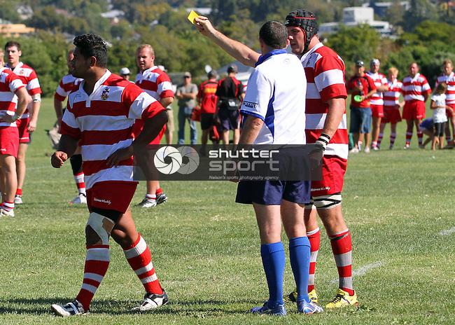 Nelson v Waimea OB, Car Company Division 1 Rugby, 19 March 2011, Neale Park, Nelson, New Zealand<br /> Photo: Marc Palmano/shuttersport.co.nz