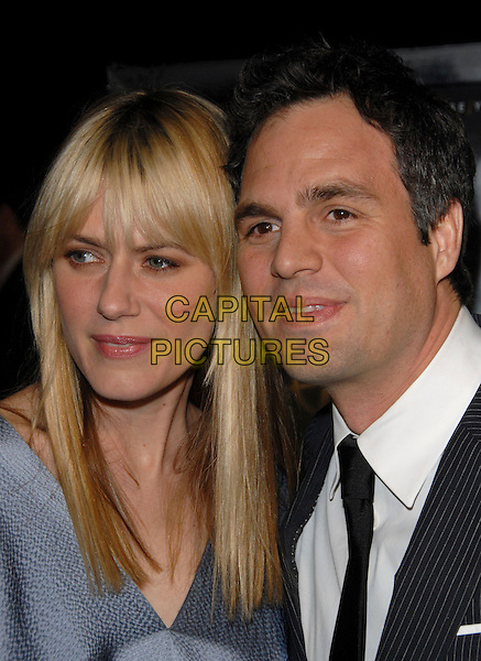 "SUNRISE RUFFALO & MARK RUFFALO.The Paramount Pictures L.A Premiere of ""Zodiac"" held at Paramount Studios in Hollywood, California, USA..March 1st, 2007.headshot portrait married husband wife .CAP/DVS.©Debbie VanStory/Capital Pictures"