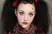 22 March 2011, HND Specialist Makeup, Porcelain Dolls Project