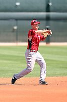Todd Frazier, Cincinnati Reds, 2010 minor league spring training..Photo by:  Bill Mitchell/Four Seam Images.