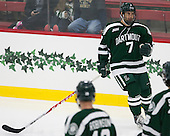 Rick Pinkston (Dartmouth - 7) - The Harvard University Crimson tied the visiting Dartmouth College Big Green 3-3 in both team's first game of the season on Saturday, November 1, 2014, at Bright-Landry Hockey Center in Cambridge, Massachusets.