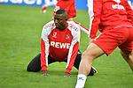 14.01.2018, RheinEnergieStadion, Koeln, GER, 1.FBL., 1. FC K&ouml;ln vs. Borussia M&ouml;nchengladbach<br /> <br /> im Bild / picture shows: <br /> nach Verletzung zur&uuml;ck Sehrou Guirassy (FC K&ouml;ln #19),   beim Aufwaermen, Einzelaktion,  <br /> <br /> <br /> Foto &copy; nordphoto / Meuter