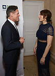 Jorge Valencia and Laura Benanti attends the Point Foundation hosts Annual Point Honors New York Gala Celebrating The Accomplishments Of LGBTQ Students at The Plaza Hotel on April 9, 2018 in New York City.