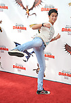 UNIVERSAL CITY, CA. - March 21: Booboo Stewart  arrives at the premiere of ''How To Train Your Dragon'' at Gibson Amphitheater on March 21, 2010 in Universal City, California.