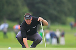 Darren Clarke lines up his putt on the 17th green during Day 2 of the 3 Irish Open at the Killarney Golf & Fishing Club, 30th July 2010..(Picture Eoin Clarke/www.golffile.ie)