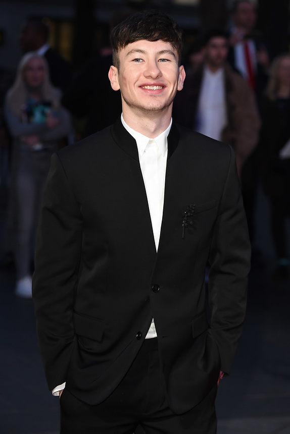 "Barry Keoghan<br /> arriving for the London Film Festival 2017 screening of ""Killing of a Sacred Deer"" at Odeon Leicester Square, London<br /> <br /> <br /> ©Ash Knotek  D3332  12/10/2017"