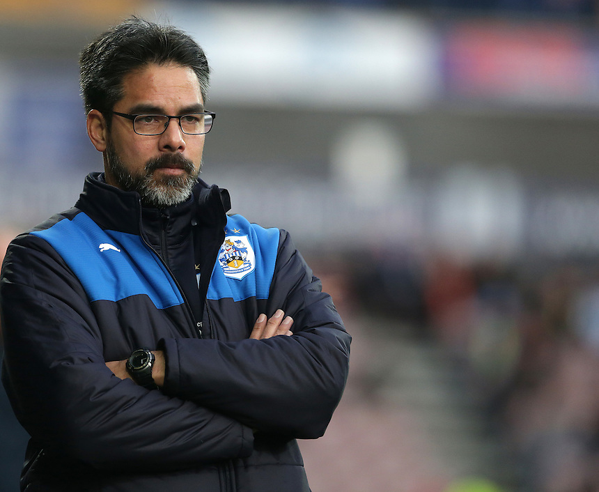 Huddersfield Town's Manager David Wagner<br /> <br /> Photographer Stephen White/CameraSport<br /> <br /> Football - The Football League Sky Bet Championship - Huddersfield Town v Preston North End - Saturday 26th December 2015 - The John Smith's Stadium - Huddersfield<br /> <br /> &copy; CameraSport - 43 Linden Ave. Countesthorpe. Leicester. England. LE8 5PG - Tel: +44 (0) 116 277 4147 - admin@camerasport.com - www.camerasport.com