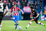 Jorge Resurreccion Merodio, Koke, of Atletico de Madrid in action during their 2016-17 UEFA Champions League Round of 16 second leg match between Atletico de Madrid and Bayer 04 Leverkusen at the Estadio Vicente Calderon on 15 March 2017 in Madrid, Spain. Photo by Diego Gonzalez Souto / Power Sport Images