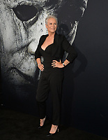 "LOS ANGELES, CA. October 17, 2018: Jamie Lee Curtis at the premiere for ""Halloween"" at the TCL Chinese Theatre.<br /> Picture: Paul Smith/Featureflash"