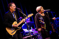 Mavis Staples performs to a full Kessler Theater in Dallas. (Special to the Star-Telegram/Rachel Parker)