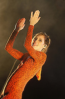 Yelle in concert at the Brussels Summer Festival