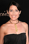 LISA EDELSTEIN. Red Carpet arrivals to the 35th Annual Gracie Awards Gala, presented by the Alliance For Women in Media Foundation at the Beverly Hilton Hotel. May 25, 2010. Beverly Hills, CA, USA.