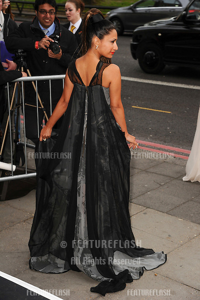 Preeya Kalidis arrives for The Asian Awards 2014 at the Grosvenor House Hotel, London. 04/04/2014 Picture by: Steve Vas / Featureflash