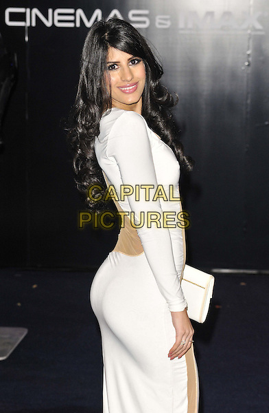 LONDON, ENGLAND - FEBRUARY 05: Jasmin Walia at the &quot;Robocop&quot; world film premiere, BFI Imax cinema on February 05, 2014 in London, England, UK.<br /> CAP/CAN<br /> &copy;Can Nguyen/Capital Pictures