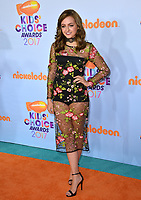 Actress Sophie Reynolds at the Nickelodeon 2017 Kids' Choice Awards at the USC's Galen Centre, Los Angeles, USA 11 March  2017<br /> Picture: Paul Smith/Featureflash/SilverHub 0208 004 5359 sales@silverhubmedia.com