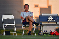 Miami, FL - Tuesday, October 15, 2019:  Jason Kreis during a friendly match between the USMNT U-23 and El Salvador at FIU Soccer Stadium.